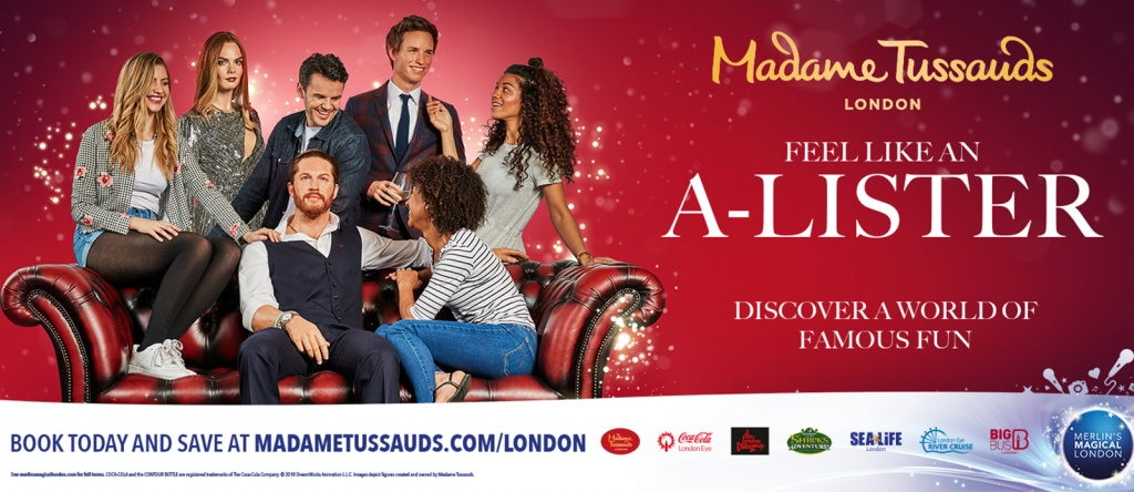 Madame Tussauds, Billboard, Poster, Model Students