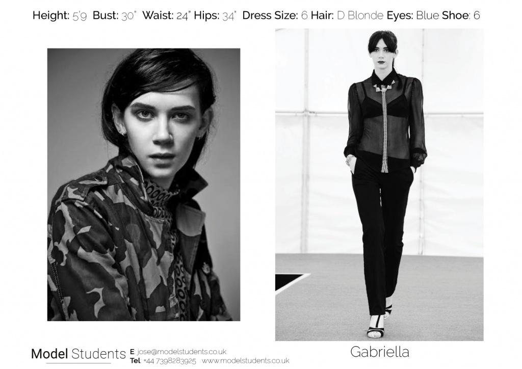 Gaby_Model Students